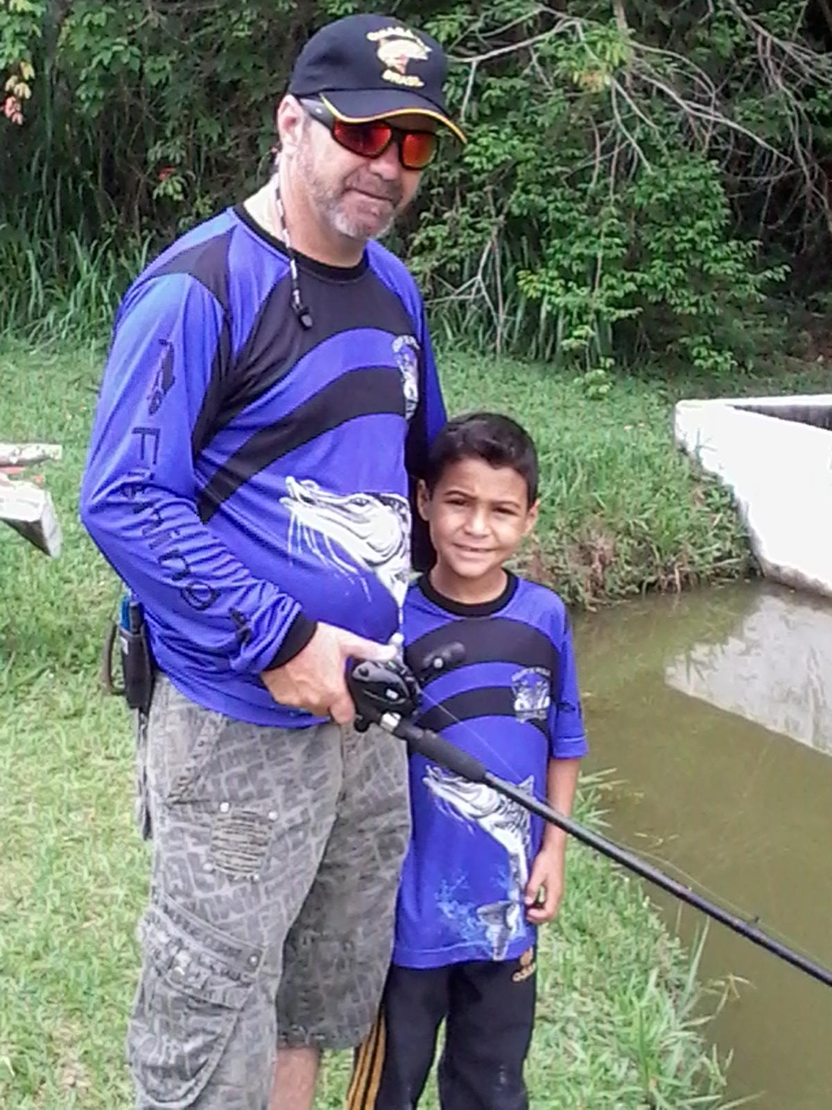 Em pescaria