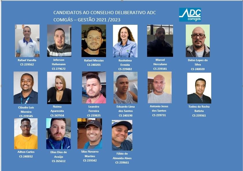 Eleição Conselho Deliberativo ADC Comgás 2021